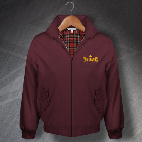 The Giants Rugby Harrington Jacket Embroidered It's a Way of Life