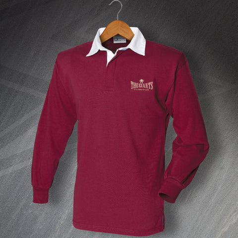 The Giants Rugby Shirt Embroidered Long Sleeve It's a Way of Life