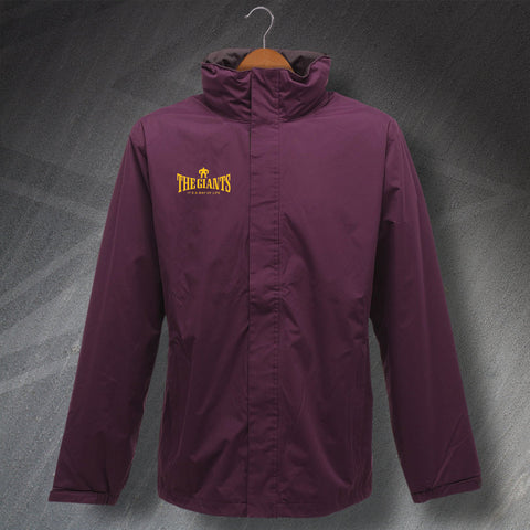 The Giants It's a Way of Life Embroidered Waterproof Jacket