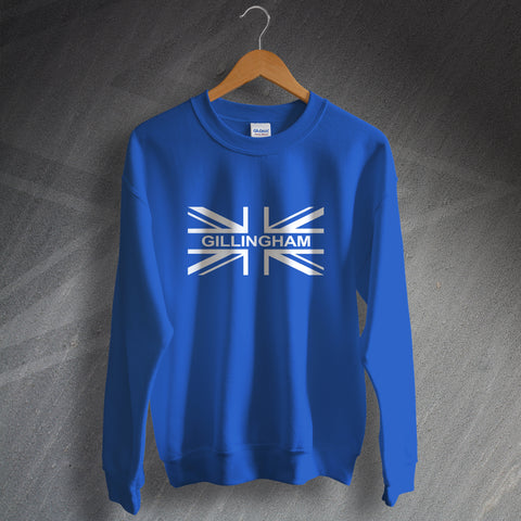 Gillingham Football Sweatshirt Union Jack