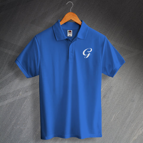 Gillingham Football Polo Shirt Embroidered 1970