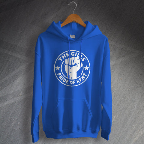 Gillingham Football Hoodie The Gills Pride of Kent