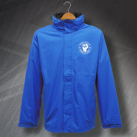 Gillingham Football Jacket Embroidered Waterproof The Gills Pride of Kent
