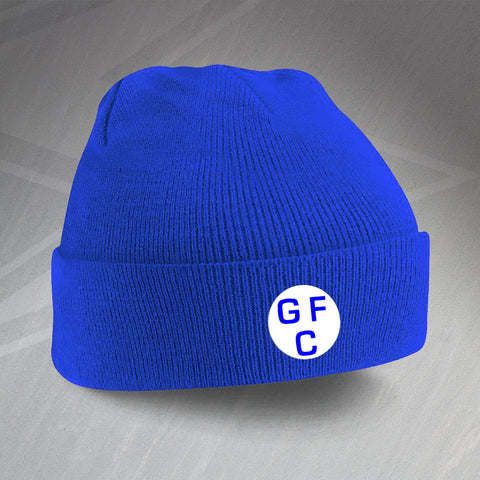 Gillingham Football Beanie Hat Embroidered 1937