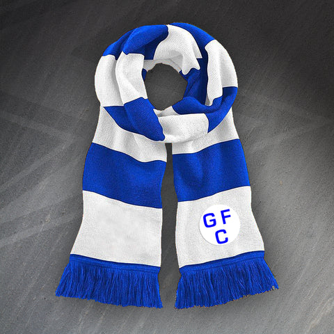Gillingham Football Bar Scarf Embroidered 1937