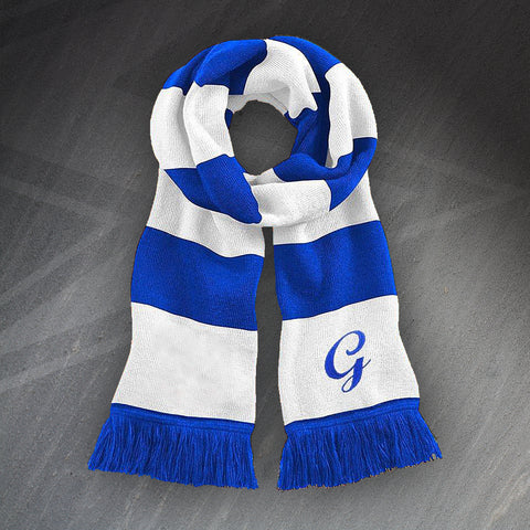 Gillingham Football Bar Scarf Embroidered 1970