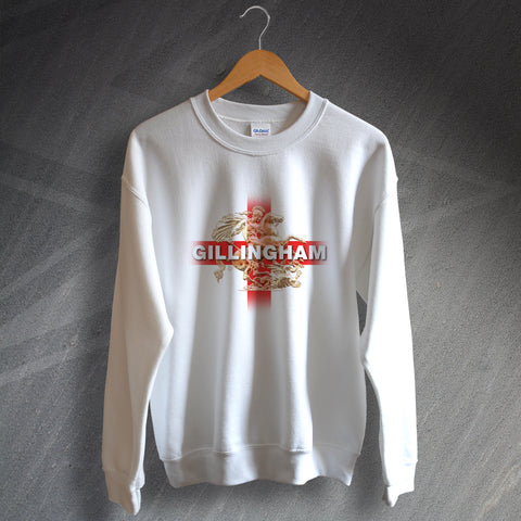 Gillingham Football Sweatshirt Saint George and The Dragon