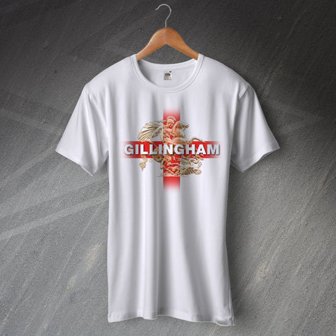 Gillingham Football T-Shirt Saint George and The Dragon