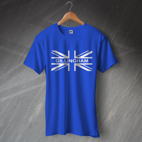 Gillingham Football T-Shirt Union Jack