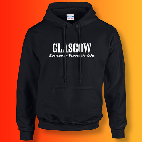 Glasgow Hoodie with Everyone's Favourite City Design