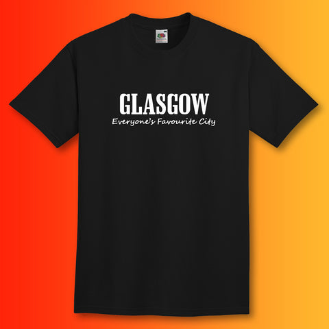 Glasgow T-Shirt with Everyone's Favourite City Design