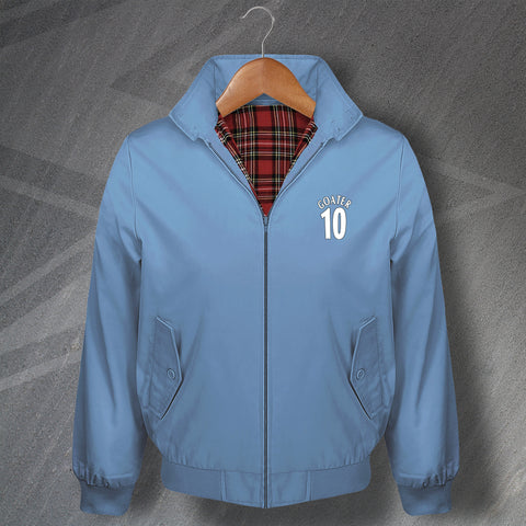 Goater 10 Football Harrington Jacket Embroidered