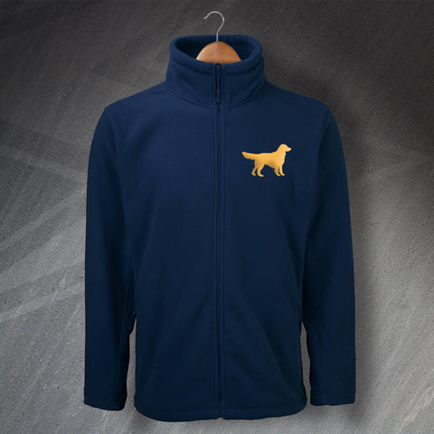 Golden Retriever Fleece Embroidered