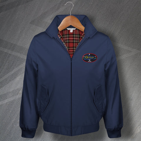 Golf Harrington Jacket Embroidered