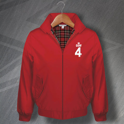 Gow 4 Football Harrington Jacket Embroidered