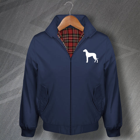 Great Dane Embroidered Classic Harrington Jacket