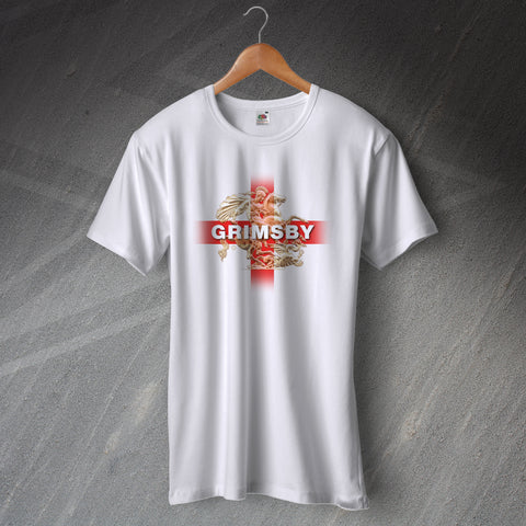 Grimsby Football T-Shirt Saint George and The Dragon