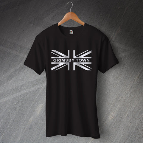 Grimsby Football T-Shirt Union Jack Grimsby Town