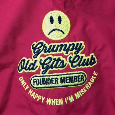 Grumpy Old Gits Club Founder Member Badge