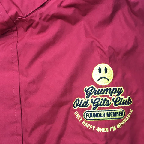Grumpy Old Gits Club Founder Member Jacket