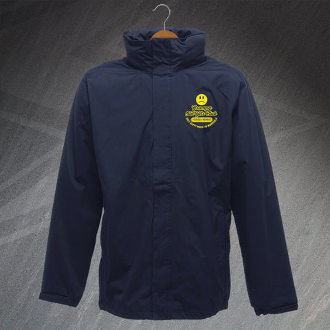 Grumpy Old Git Jacket Embroidered Waterproof Grumpy Old Gits Club Founder Member