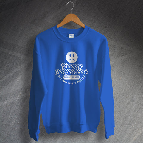Grumpy Old Gits Club Founder Member Sweatshirt