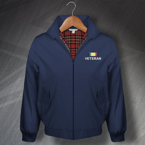 Campaign Service Classic Harrington Jacket with Choice of Embroidered Badge