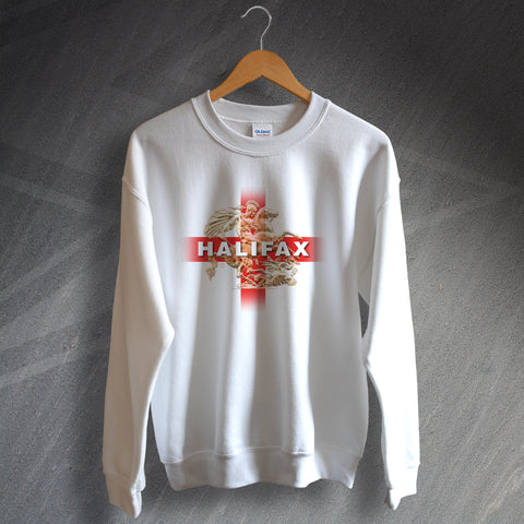 Halifax Football Sweatshirt Saint George and The Dragon