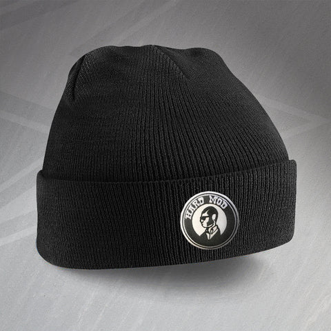 MOD Beanie Hat Embroidered Hard MOD