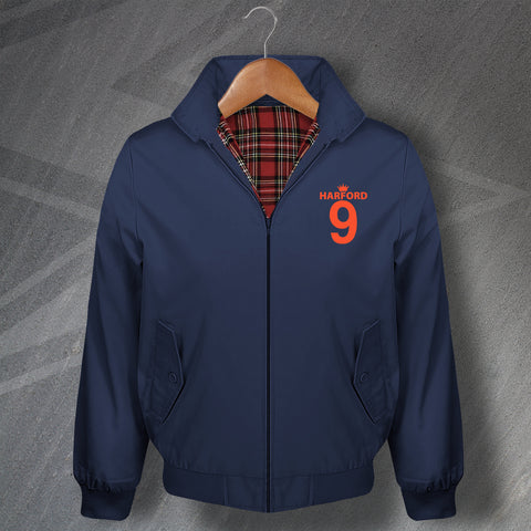 Harford 9 Embroidered Classic Harrington Jacket