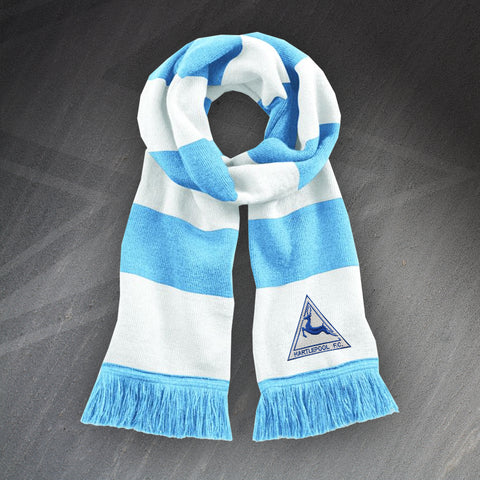 Hartlepool Football Bar Scarf Embroidered 1974