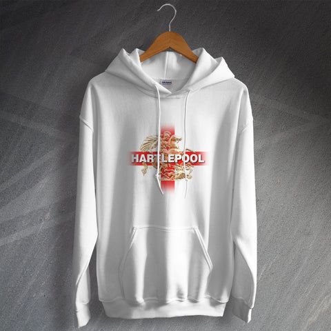 Hartlepool Football Hoodie Saint George and The Dragon