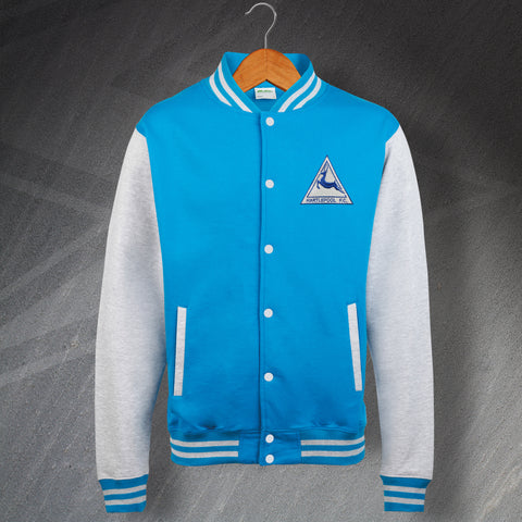 Hartlepool Football Varsity Jacket Embroidered 1974