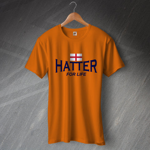Luton Football T-Shirt Hatter for Life