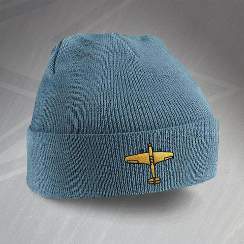 Hawker Hurricane Beanie Hat Embroidered