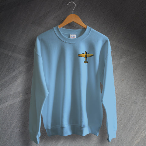 Hawker Hurricane Sweatshirt Embroidered