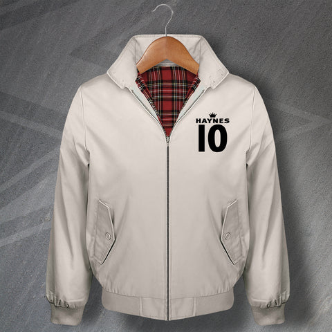 Haynes 10 Football Harrington Jacket Embroidered