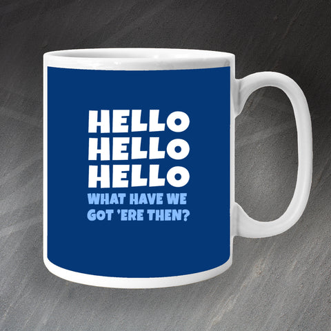 Police Force Mug Hello Hello Hello What Have We Got 'ere Then?