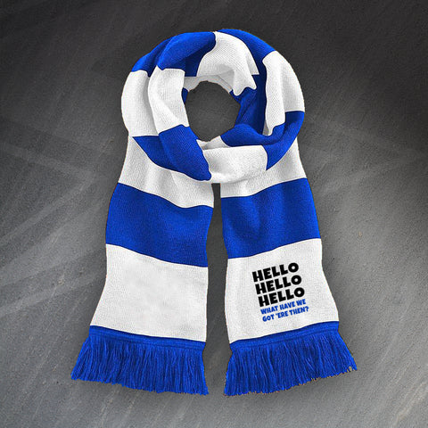 Police Force Bar Scarf Embroidered Hello Hello Hello What Have We Got 'ere Then?