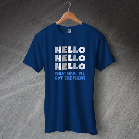 Police Force T-Shirt Hello Hello Hello What Have We Got 'ere Then?