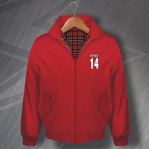 Henry 14 Football Harrington Jacket Embroidered