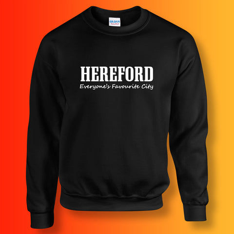 Hereford Sweatshirt with Everyone's Favourite City Design