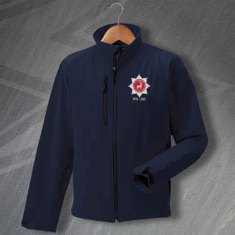 Hertfordshire Fire Service Jacket Embroidered Softshell Personalised Years of Service