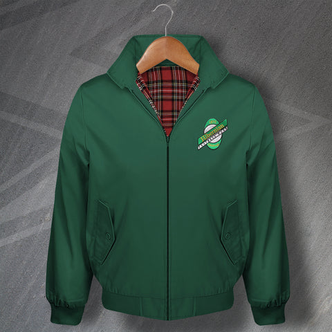 Hibs Football Harrington Jacket Embroidered 1989