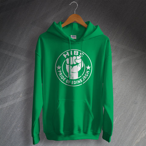 Hibs Football Hoodie Pride of Edinburgh