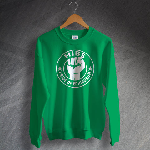 Hibs Football Sweatshirt Pride of Edinburgh