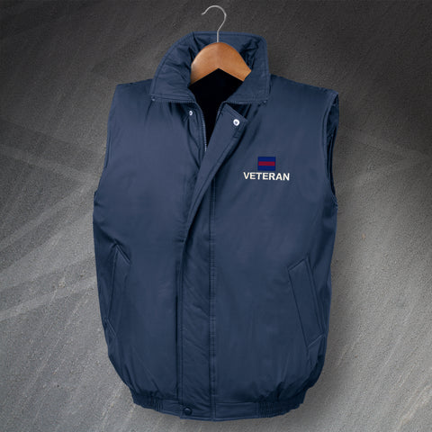 Guards Division Veteran Embroidered Padded Gilet