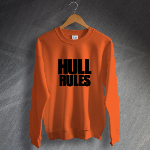 Hull Football Sweatshirt Hull Rules