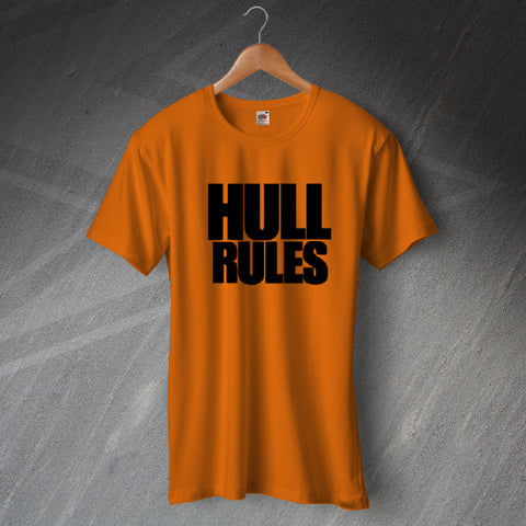 Hull Football T-Shirt Hull Rules