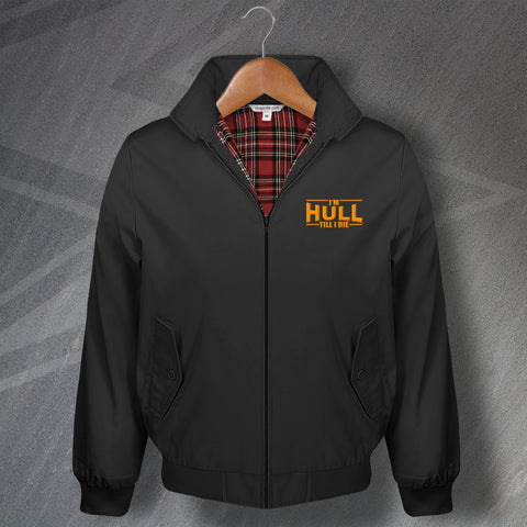 Hull Football Harrington Jacket Embroidered I'm Hull Till I Die